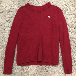 Magenta pullover sweater